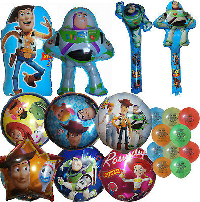 Toy Story Woody Buzz Balloon Birthday Party Bag Gift Centerpiece Decoration
