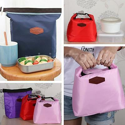 Thermal Portable Insulated Cooler Picnic Lunch Carry Tote Storage Bag Holder UK