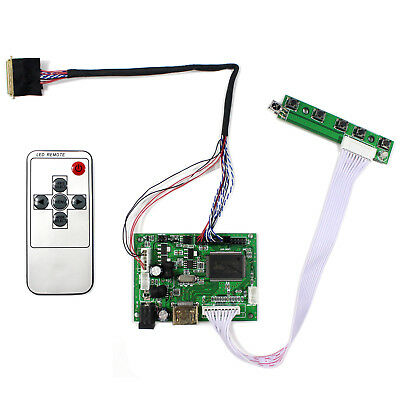 HDMI LCD driver board for 14inch B140XW01 LP140WH2 LP140WH4 1366x768 LCD Panel