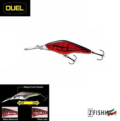 Esca Artificiale Duel Hardcore Shad 75SP suspending Spinning Lures Bass fishing