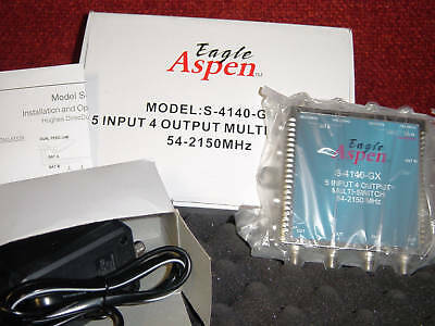 Starchoice Eagle Aspen 5x4 multiswitch Shaw Direct add 4 more outputs to a 4x8