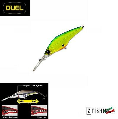 Artificiale Hardbait Duel Hardcore Shad 75SP suspending Spinning Lure Bass pesca