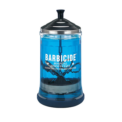 Barbicide Salon Barber Medium Disinfecting Jar 621ml