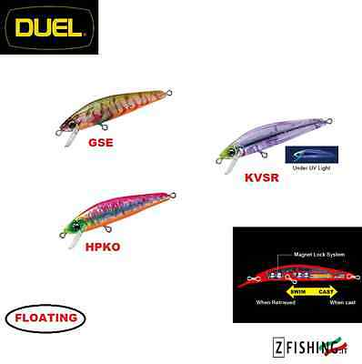 Artificiale DUEL Hardcore Minnow 50F pesca mare light spinning lure trout area