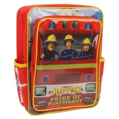 Fireman Sam Jupiter, Pride of Pontypandy Kids Backpack Rucksack School Bag