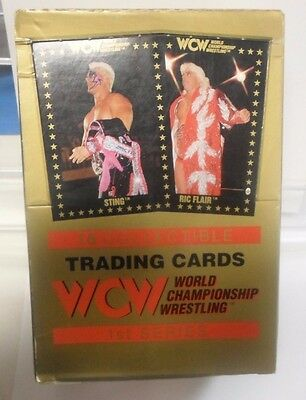 Championship Marketing WCW Series 1 Trading Cards Box w/ 36 Sealed Packs