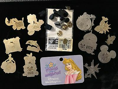 Lot Of Child's Collectible Disney Collector Pins (2004); Etc....