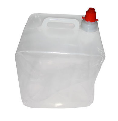 10 LITRE WATER CARRIER CONTAINER COLLAPSIBLE CAMPING SPACE SAVER Summer Camping