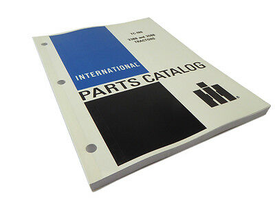 International Harvester IH 3388, 3588 Tractor Parts Catalog Manual Book