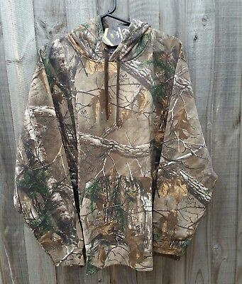 Realtree Xtra Camo Hoodie Jacket Hunting Fishing - Men's XL