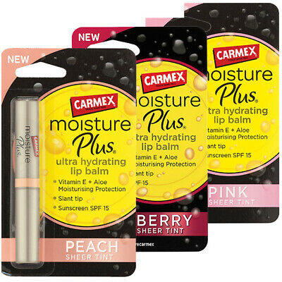 Carmex - Moisture Plus Ultra Hydrating SPF15 Tint Finish Lip Balm Collection