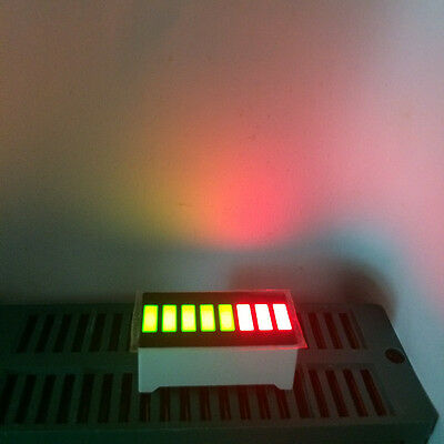 5pcs 8 Segment LED Bargraph Modules Bi-color Green RED Bar-graph LED Display