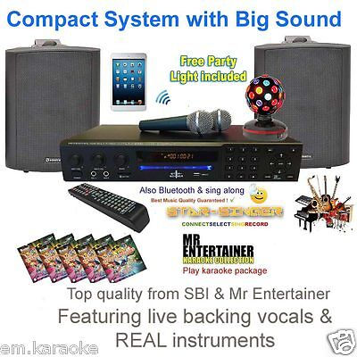 Karaoke Machine Package With Bluetooth Karaoke Machine Speakers  & Microphones