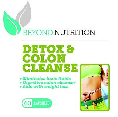 Detox & Colon Cleanse Eliminates Toxins Digestive Cleanser Aids In Weight Loss