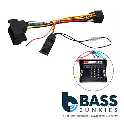 Vauxhall Opel Astra H 2004 On Car Stereo Quadlock Wiring Harness Adapter Lead