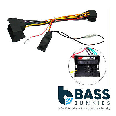 Vauxhall Opel Vectra C 2004 On Car Stereo Quadlock Wiring Harness Adapter Lead