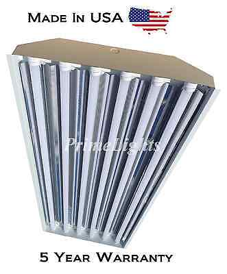 (QTY 18) 6 Bulb / Lamp T8 LED High Bay Warehouse, Shop, Commercial Light