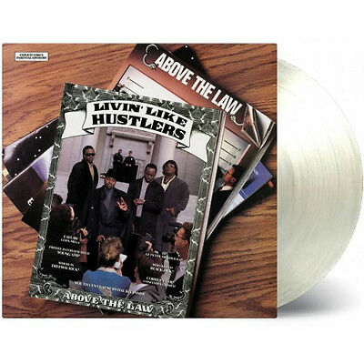ABOVE THE LAW Livin' Like Hustlers 180G TRANSPARENT Vinyl LP Limited Edition