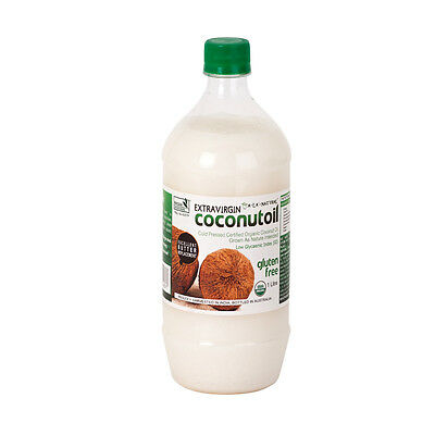Extra Virgin Coconut Oil 1 Litre, Organic Raw & Cold Pressed ~PICK UP ONLY~