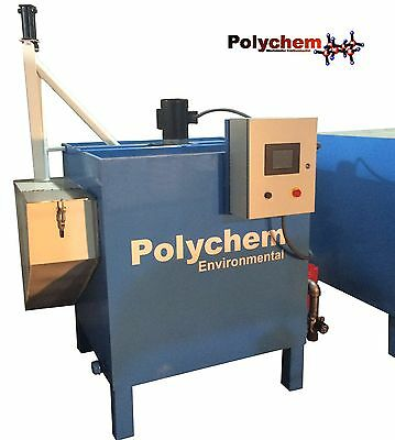 Industrial Wastewater Treatment System - Polychem AquaPure E400A Fully Automatic