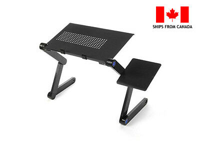 AnthroDesk Adjustable Folding Laptop Notebook Tablets PC iPad Stand