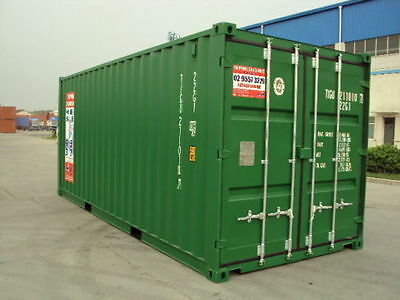 20ft GP, New Build Shipping Containers ex Sydney, Melbourne, Brisbane