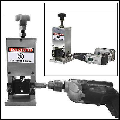Manual Crank & Drill Cable Wire stripping machine Peeling machine Stripper GDY7