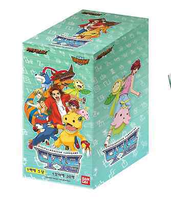 Digimon Cards No.1 Booster box / Bandai / Korean ver / 30 pack