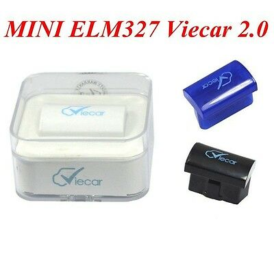 2016 MINI ELM327 Interface Viecar 2.0 OBD2 Bluetooth Auto Diagnostic Scanner