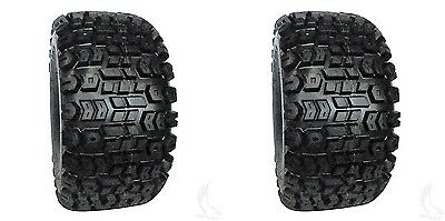 (2) Kenda Terra Trac 20x10.00-8 4 Ply Golf Cart Tires