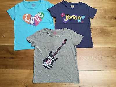 Girls Ex Mini Boden  Short Sleeve Top Tshirt 3 4 5 6 7 8 9 10 11 12 13 14 Yrs