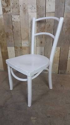 Retro Vintage Bent Wood Painted Low / Child's Chair - Shabby Chic?