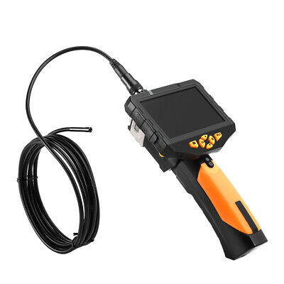 "3.5"" LCD Dia 8.2mm Tube Snake Camera Endoscope Inspection Borescope DVR 3M+Torch"