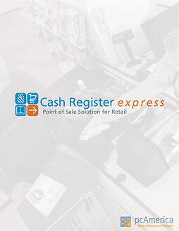 Pc America, Single Terminal, Professional Edition Of Cash Register Express With