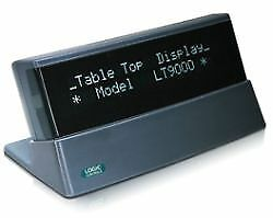 Bematech, Tabletop Display, Ltx9000Up-Gy, Gray, 9.5Mm, Usb Port-Powered,replaces