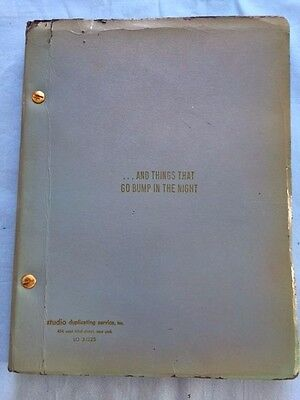 ...and Things That Go Bump In The Night - Play Script By Terrence Mcnally