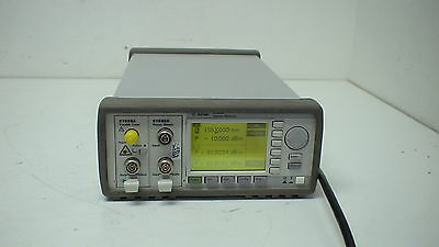 Agilent 8163A  2-Slot Lightwave Multimeter Mainframe with 1x 81635A & 1x 81689A