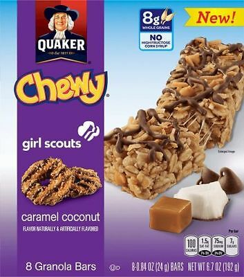 Quaker Chewy Girl Scouts Caramel Coconut
