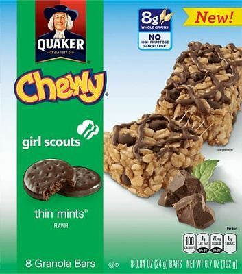 Quaker Chewy Girl Scouts Thin Mints