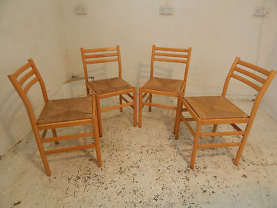 ladder back,rush seats,dining chairs,4 chairs,chairs,dining room,four,wooden,