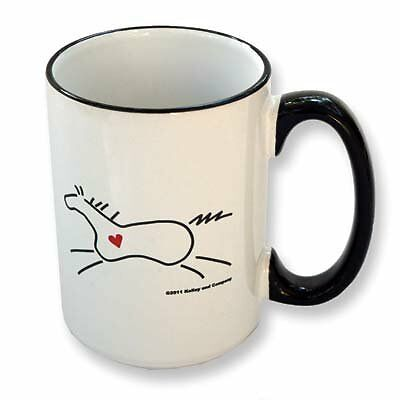"""Heart Horse"" Mug, New, Free Shipping"