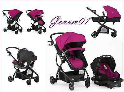 STROLLER Baby Car Seat TRAVEL SYSTEM 3in1 Infant Child Carriage Buggy Bassinet
