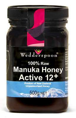 Wedderspoon RAW Manuka Honey Active 12+ 250g