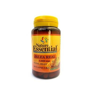 Jalea Real 1000 mg 60 cápsulas -Nature Essential- (energia)