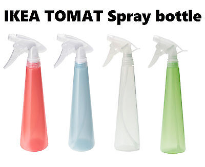 IKEA TOMAT Spray bottle hard to a soft spray. AVAILABLE IN 8 COLOUR OF CHOICE