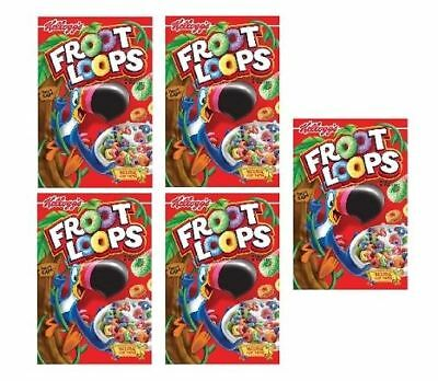 Kellogg's Fruit Loops Cereal 5 Box Pack