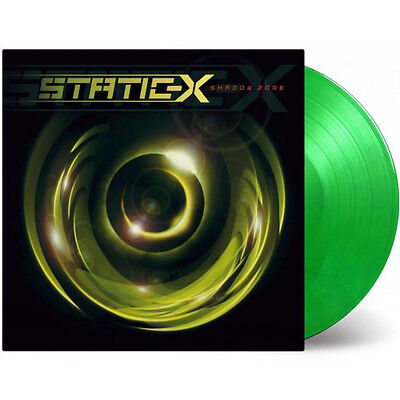 STATIC-X Shadow Zone 180G GREEN & YELLOW Vinyl LP - Limited Edition