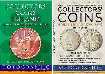 Collectors' Coins Ireland & Collectors' Coins GB 2015  Both Brand NEW