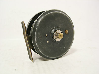 "Vintage Antique Alloy 3"" Smith & Wall Trout Fly Fishing Reel"