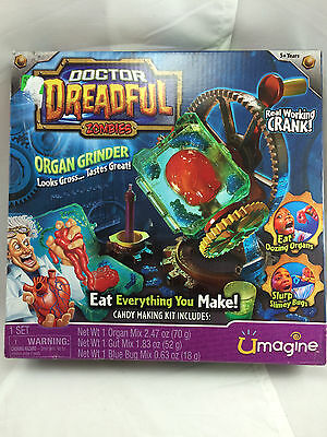 Doctor Dreadful Zombies Organ Grinder Complete No Candy Mix